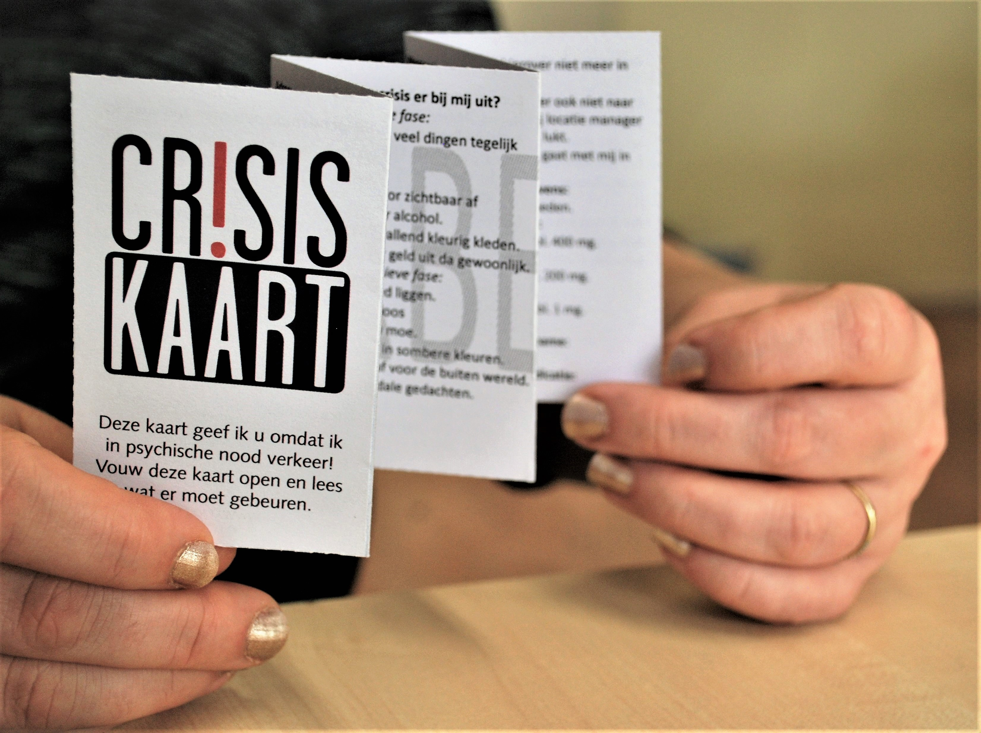 De Crisiskaart
